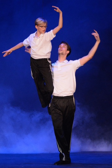 Landon Brimacombe (Billy) and Aidan Ziegler-Hansen (Older Billy)
