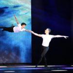 Kamill flying