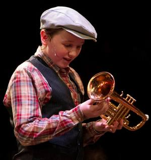 "Westin Brown as ""Winthrop"" in The Music Man"