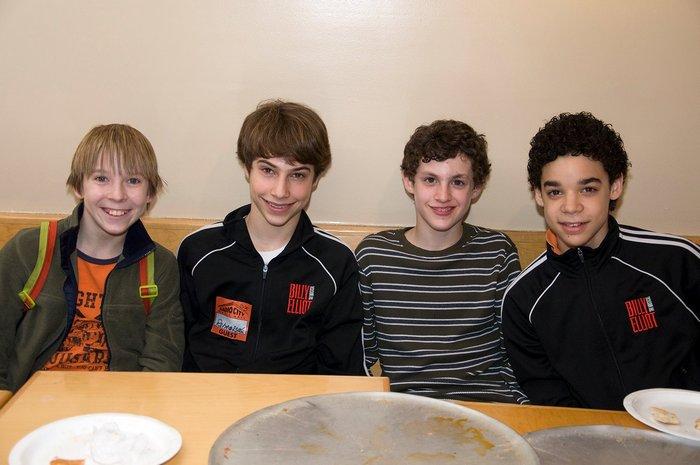 Broadway Production (2008-2012): The First 4 Broadway Billys (l-r Tommy Batchelor, Kiril Kulish, Trent Kowalik, David Alvarez)