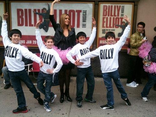 Toronto Production (2011) The Billys: (L-R Marcus Pei, Myles Erlick, J.P. Viernes, Cesar Corrales)