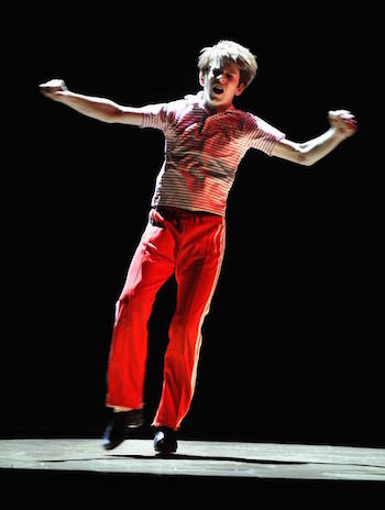 "Lochlan as Billy Elliot dances ""Angry Dance"""