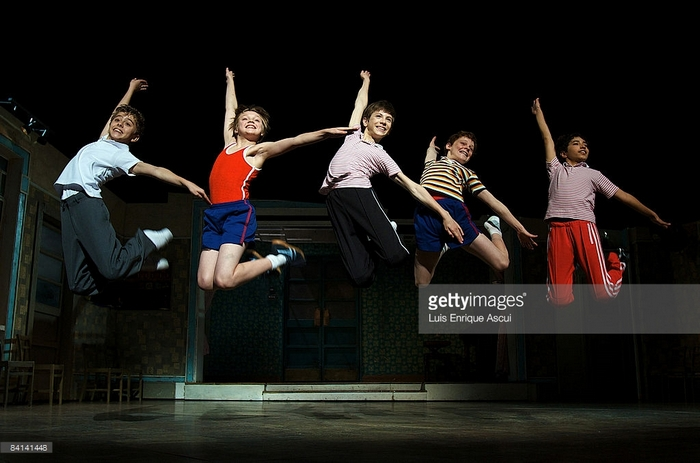 Australian Production (2007-2009) The Melbourne Billys (l-r Michael Dameski, Joshua Waiss Gates, Rhys Kosakowski, Joshua Denyer and Dayton Tavares)