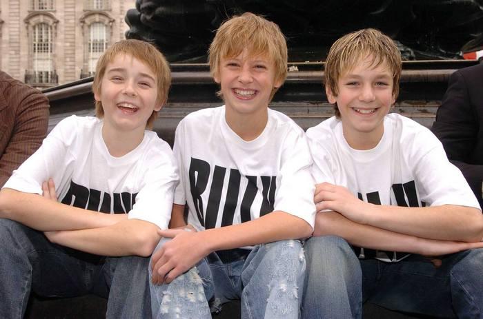 London Production (2005-2016) The Original Three BETM Billys (l-r Liam Mower, George Maguire, James Lomas)