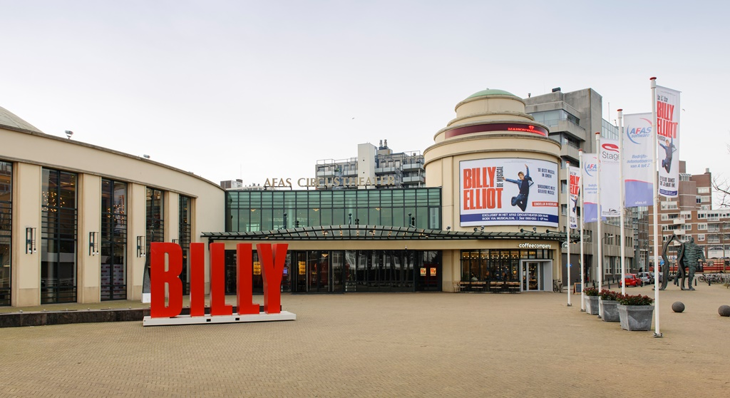The AFAS CIrcustheater - Home of the Dutch Production of Billy Elliot the Musical