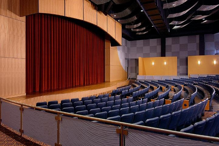 Axelrod Performing Arts Center Interior