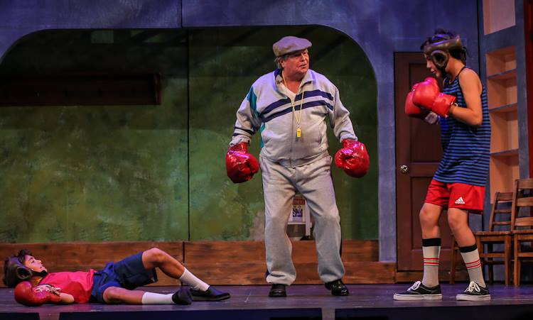 Billy (Aaron Ostroff), George (Bevo Biven) and Michael (Matias 'Mati' Durkin)