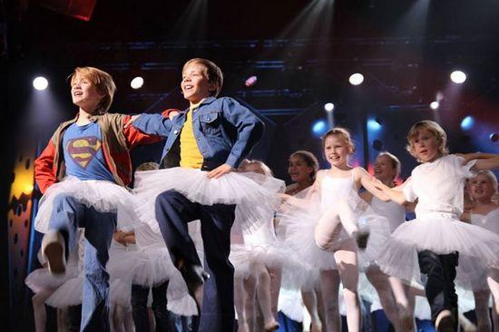 Billy, Michael & Cast Dance the Finale