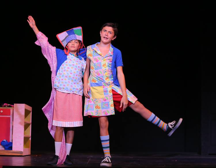 Billy (Aaron Ostroff) and Michael (Matias 'Mati' Durkin) Express Themselves