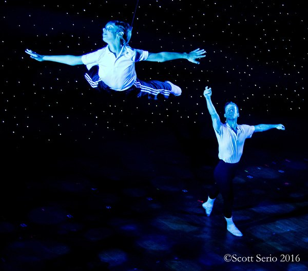 "Billy (Brooks Landegger) and Older Billy (Braeden Barnes) in ""Dream Ballet"""