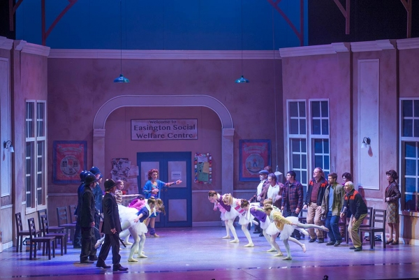 The Cast of BETM at Lyric Theatre of Oklahoma