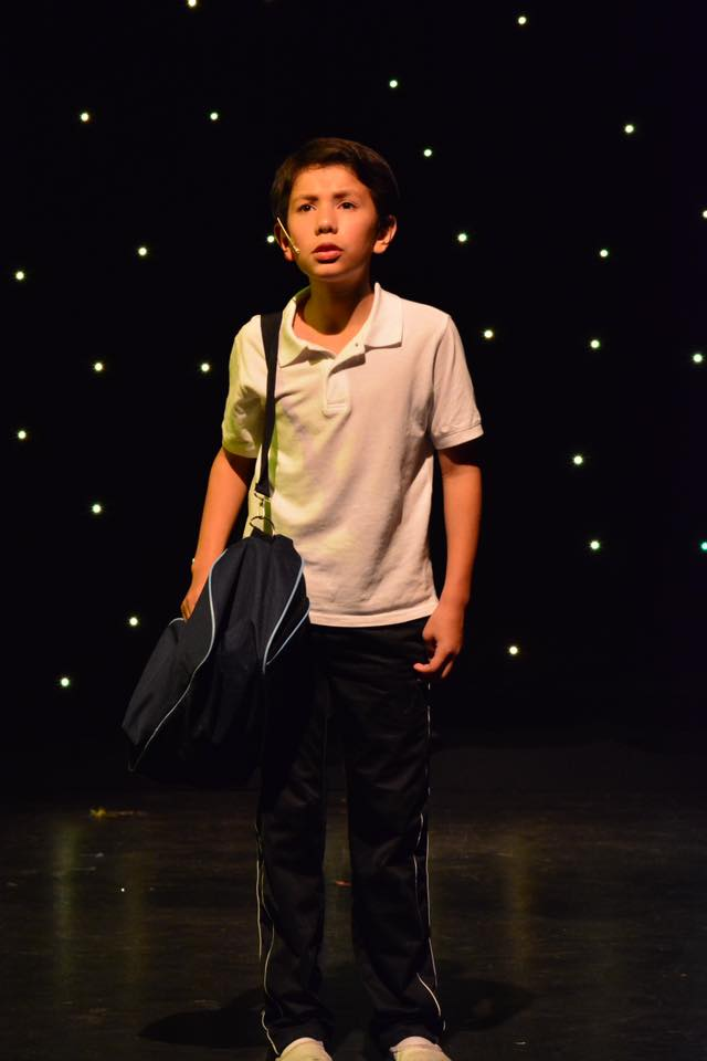 Asher Alcantara is Billy Elliot