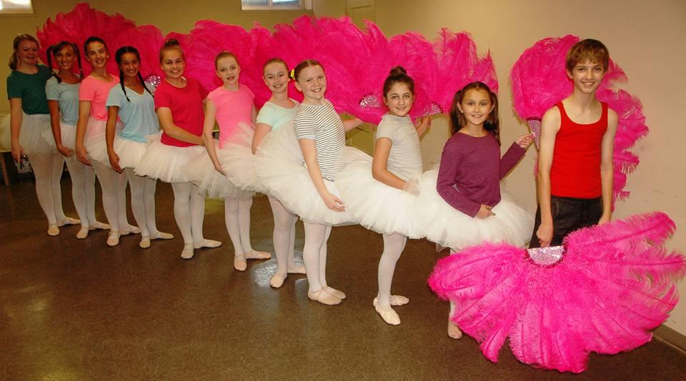 Peanut Edmonson and the Ballet Girls