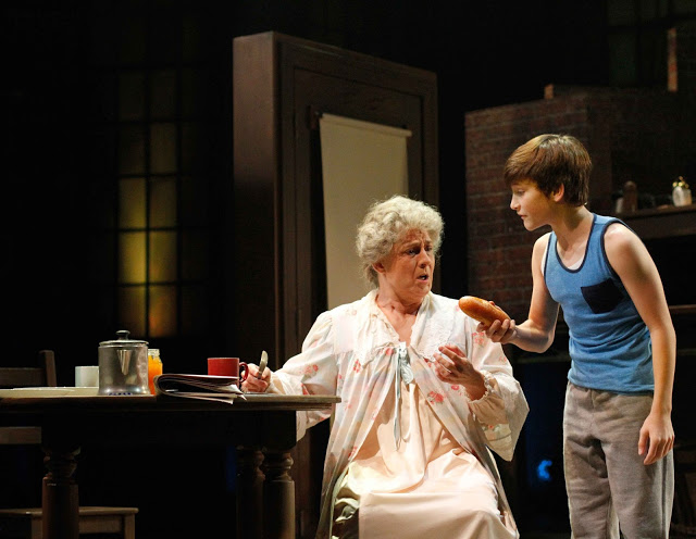 Maria Amorocho (Grandma) and Matthew Dean (Billy)