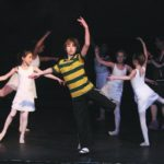 Billy (Maurice Kimball) and the Ballet Girls