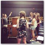 Ballet Girls Rehearse
