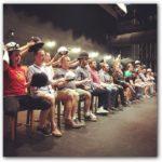 Ensemble Cast in Rehearsal