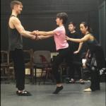 Liam Redford, Rachel Bertone & Hunter Foster
